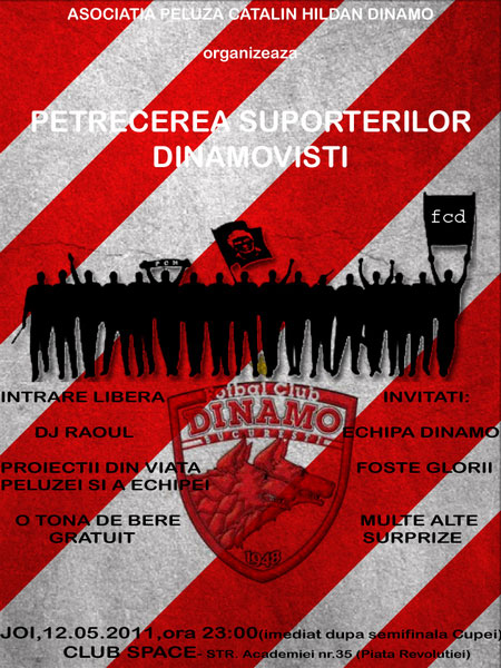 Petrecere Dinamo 10 mai 1997 - 2011