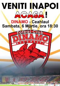 Veniti inapoi acasa! Dinamo-Ceahlaul 2010