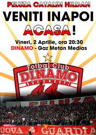 DINAMO - Gaz Metan Medias 2010