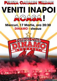 Veniti inapoi acasa! Dinamo-steaua 2010